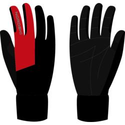 Перчатки NordSki Motion черн/красный