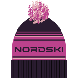Шапка NordSki Stripe фиолетовый