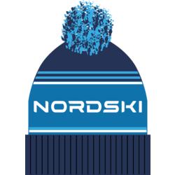 Шапка Nordski Stripe т.синий