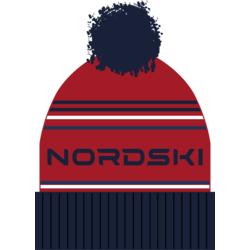 Шапка NordSki Stripe красный