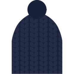 Шапка NordSki Knit т.синий