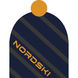 Шапка Nordski Line т.синяя