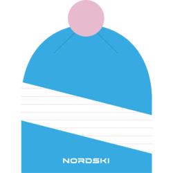Шапка NordSki Line лазурный