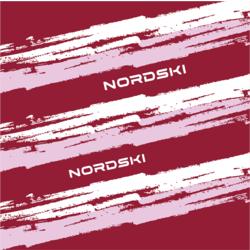Бандана-баф NordSki Stripe бордо