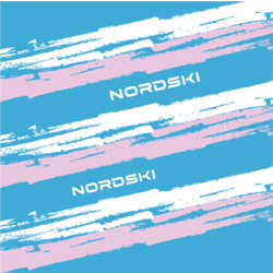 Бандана-баф NordSki Stripe син/розовый