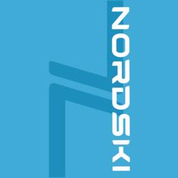 Баф Nordski Logo св.синий