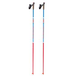 Палки лыжные KV+ Tempesta Blue Clip (90% Carbon)