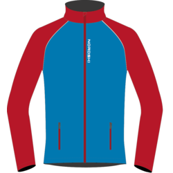Разминочная куртка M Nordski Premium SoftShell син/красн