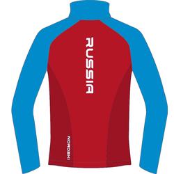 Разминочная куртка M Nordski Premium SoftShell красн/синий
