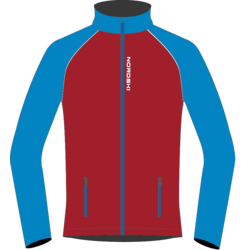 Разминочная куртка W Nordski Premium SoftShell красн/син