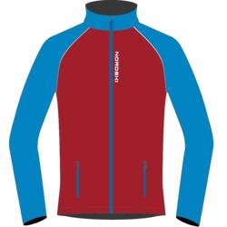 Разминочная куртка NordSki W Premium SoftShell женская красн/синий