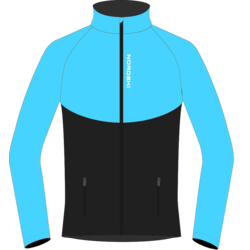 Разминочная куртка NordSki W Premium SoftShell женская голуб/черный