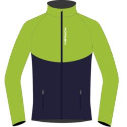 Разминочная куртка NordSki JR Premium SoftShell детская зел/т.синий