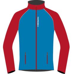 Разминочная куртка NordSki JR Premium SoftShell детская син/красный