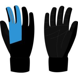 Перчатки NordSki JR Motion WS детские черн/синий