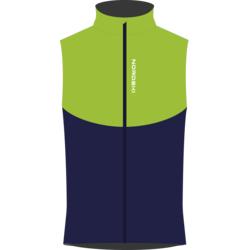 Жилет NordSki M Premium SoftShell мужской зелен/т.синий
