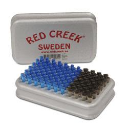 Щётка Red Creek Combi сталь тонкая/нейлон синий