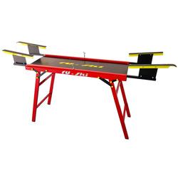 Стол для подготовки лыж RU-SKI Сервисный красный