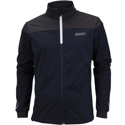 Разминочная куртка Swix M Cross мужская т.синий