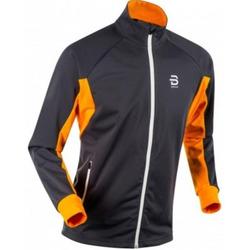Разминочная куртка BD Beito мужская серый/оранжевый