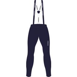 Разминочные штаны на лямках NordSki JR Premium детские BlueBerry