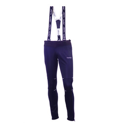 Разминочные штаны на лямках NordSki М Premium мужские BlueBerry