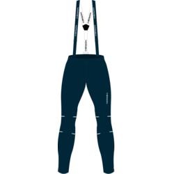 Разминочные штаны на лямках NordSki W Premium женские BlueBerry