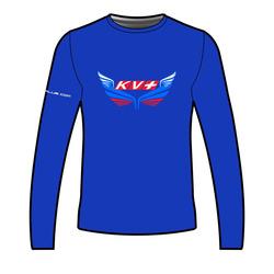 Рубашка KV+ T-shirt long sleeve мужская синий