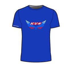 Футболка KV+ T-shirt мужская синий