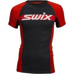 Футболка Swix M RaceX Carbon SS мужская красный