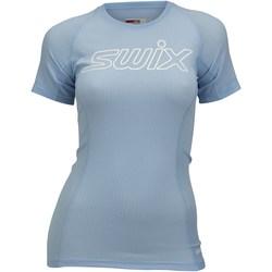 Футболка Swix W RaceX Light SS женская голубой