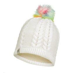 Шапка Buff Knitted&Polar Hat Nina White