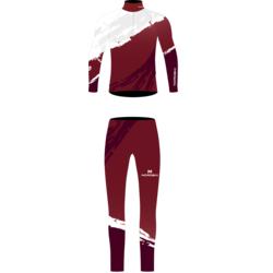 Комбинезон лыжный NordSki Premium бордо/белый