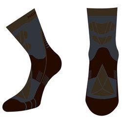 Носки термо NordSki Wool черн/серый