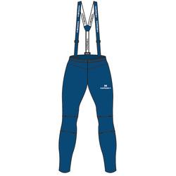 Разминочные штаны на лямках NordSki JR Premium детские Patriot