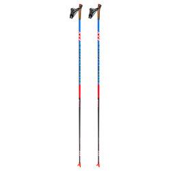 Палки лыжные KV+ Tornado Clip Blue (100% Carbon) 20/21