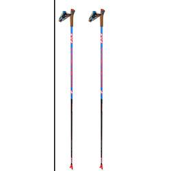 Палки лыжные KV+ Tornado Plus Titan Clip Blue (100% Carbon)
