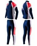 Комбинезон лыжный SunSport цвет т.син-крас-бел