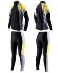 Комбинезон лыжный SunSport цвет черно-желт-сер