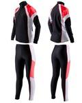 Комбинезон лыжный SunSport цвет черно-красн-бел