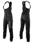 Штаны разминочные на лямках SunSport WS черные
