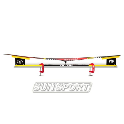 Станок-профиль Ru-Ski на струбцинах